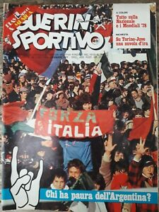 RIVISTA=GUERIN SPORTIVO=N.49 1977=IL FILM DEL CAMPIONATO=HOFFMANN DEL MAGDEBURGO