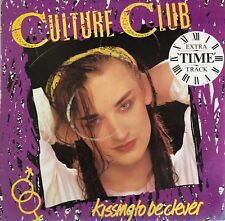 CULTURE CLUB Kissing To Be Clever LP with Inner sleeve 1982 Excellent Condition