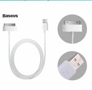 30Pin USB Cable For iphone 4 4s 3GS 3G iPad 1 2 3 iPod Charging Cable