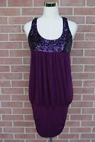 Forever 21 Purple Sequin Dress Women's Size Small