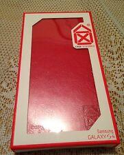 New Case Scenario  Book Case For Samsung Galaxy S4 Red Colour