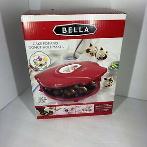 Bella Cake Pop and Donut Maker, Red