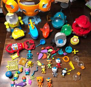 Huge Lot Octonauts Octopod Gup X Figures & Vehicles Disney Jr R5