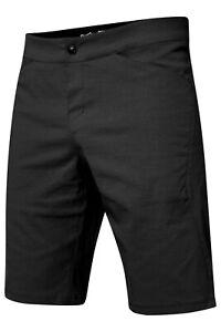 Fox Ranger Lite Shorts Black Shorts MTB Black Inner Trouser Lining & Padding