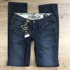 Stitch's Maya Midnight Stretch Straight Women's Jeans Size 27 NWT RRP $420 (V3)