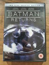 BATMAN RETURNS DVD Film Movie Cert 15