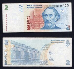 Argentina - 2 pesos 2002 BB/VF  A-04