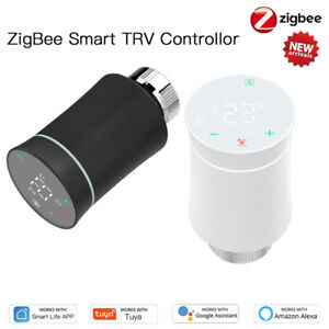 1x Tuya ZigBee Smart Radiator Actuator Thermostat Temperature valve Controller