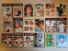 (220) 1970 - 1979 Topps Vintage Baseball Cards Lot Stars Clemente Mays