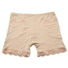 Women Legging Tutu Skirt Short Skirt Under Safety Pants Undie Underwear Beige