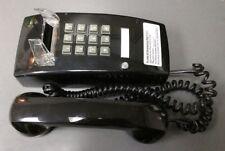 Vintage Cortelco ITT 255400-VBA-20MD Black Single Line Analog Corded Wall Phone