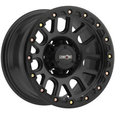 "4-Vision 111 Nemesis 17x9 6x5.5"" -12mm Matte Black Wheels Rims 17"" Inch"