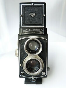 Rolleicord III TLR Camera with Xenar 75mm f3.5 Lens.AS IS UNTESTED.READ!