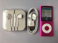 Apple iPod nano 4th Generation Pink (16GB) new