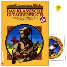 Das klassische Gitarrenbuch - Lehrmaterial mit CD - Voggenreiter - 9783802402449