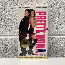 Pretty Woman VHS 10th Anniversary Edition Factory Sealed Blockbuster Brand New
