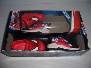 MARVEL SPIDER-MAN 2  TODDLER BOY'S SNEAKERS & CLOG SANDALS SHOES SIZE 5 NEW