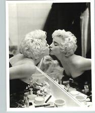 1987 1988 Original Bruce Weber Madonna Kissing Herself Mirror Photo Gravure Art