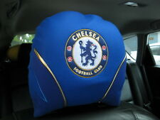 Chelsea Football Club Car Accessory : 1 piece Head Rest Cover Head Seat Cover