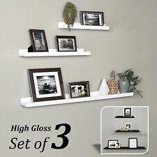 Floating Shelves Wall Shelf Decor Display Unit Storage Wood Mount Picture Ledge