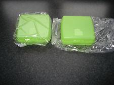 Tupperware 2 x Sandwichbox, Sandwich-Box , Lunchbox ,Brotdose, grün -2 Stück