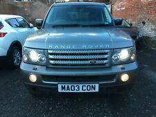 "L@@K 2008 RANGE ROVER SPORT HSE 3.6 TD8  AUTO""*SPARES OR REPAIRS*272 BHP* REPO**"