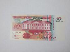 Billet suriname 10 Gulden 1998
