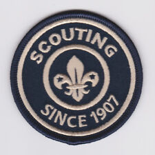 SCOUTS OF UNITED KINGDOM UK / BRITISH - SCOUTING SINCE 1907 HERITAGE SCOUT BADGE