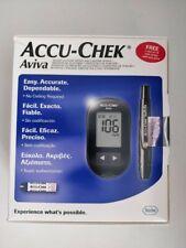 ACCU CHEK Aviva Medidor de glucosa en sangre diabético Monitor// las lecturas de sistema en mg/dl
