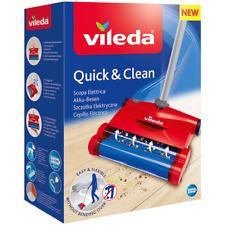 Vileda Scopa Elettrica Quick & Clean Battery Broom Scopa Elettrica Senza Fili