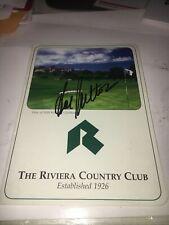 Hal Sutton 1983 PGA Championship Winner  Signed Riveria CC Scorecard
