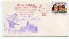 1974 Mariner 10 Mercury INTA-NASA Estacion Espacial Madrid DSS-63 Robledo II