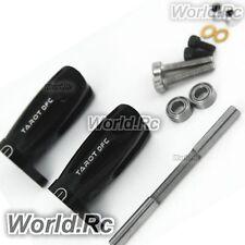 TAROT 450 DFC Main blade grips Set support noir pour Trex 450 Pro DFC-RH48010B
