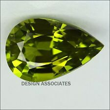 6x4 MM Pear Cut Peridot All Natural Without Treatment