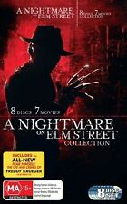 A NIGHTMARE ON ELM STREET 1 - 7 Movies Collection : NEW 8-DVD Region 4