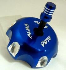 Suzuki  LTR 450 LTR450  Billet Gas Cap Alba Racing     Blue  407 T6 L