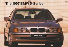 1997 BMW 5 Series 528i 540i Official Brochure for the U.S. Market