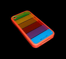 APPLE LIM'S RAINBOW DESIGN  IPHONE 4 4S SMARTPHONE CASE SUPER FAST SHIPPING