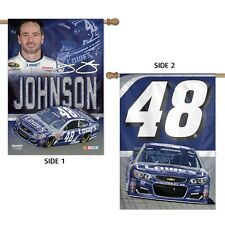 Jimmie Johnson Wincraft #48 Lowe's 28x40 Banner/Vertical Flag FREE SHIP
