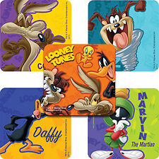 """25 Looney Tunes Stickers, Assorted, 2.5"""" x 2.5"""" each, Party Favors"""