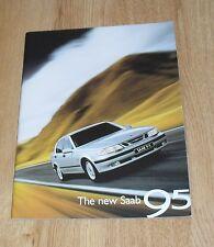 Saab 95 Brochure 1997-1998 - 9-5 & 9-5 SE - 3.0 V6t 2.3t 2.0t - UK Market