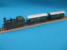 """Märklin H0 Zugset """"2940"""" 3087 Dampflokomotive in OVP + 2 x 4040 Weißblech gebr."""