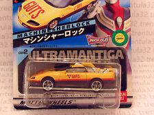 Ban Dai ULTRAMAN TIGA Machinesherlock Charra Wheels JAPAN ED JAPANESE Hot Wheels