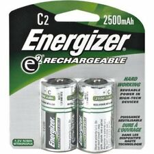 Energizer Recharge Universal C Rechargeable Batteries 2-Count (Pack of 2)