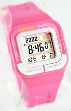 Casio SDB100-4A Ladies Pink Running Watch 60 Lap Memory 4 Alarms 10 Year Battery