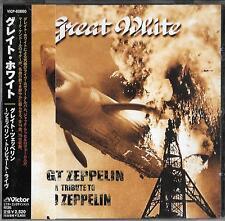 GREAT White  Great Zeppelin - A Tribute To Led Zeppelin JAPAN CD OBI 1999