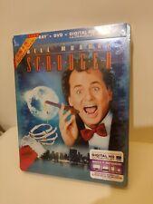 Scrooged Blu-ray Steelbook, US version,  New/Mint
