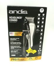 Andis 68120 Headstyler Headliner Combo 27-Piece Haircutting Kit, Black
