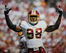 Brian Orakpo Autographed Redskins 16x20 Arms Open Photo- JSA W Authenticated