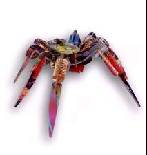 "New KIDSONROOF Totem 12 x 12"" SPIDER Puzzle 3-D Construction Kit"